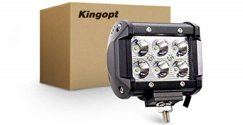 Kingopt Set of 2 4-Inch Combo LED Lights
