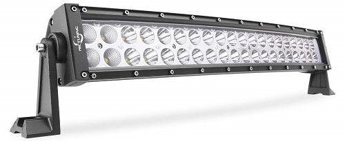 MicTuning 22-Inch Curved LED Off-Road Light Bar