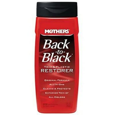 Mothers Back To Black Plastic and Trim Restorer