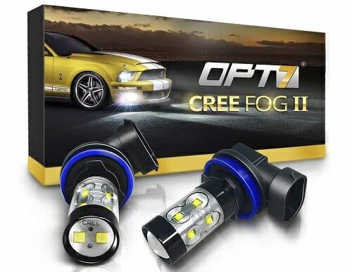 OPT7 Cree LED Fog Light Bulbs