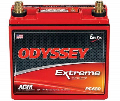 Odyssey PC680 Car AGM Battery