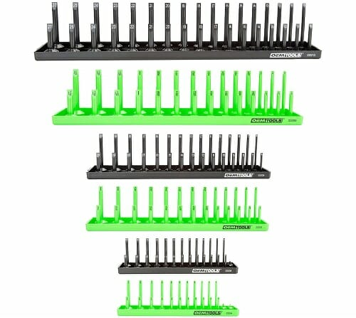 OemTools 22233 6 Piece Socket Tray Set