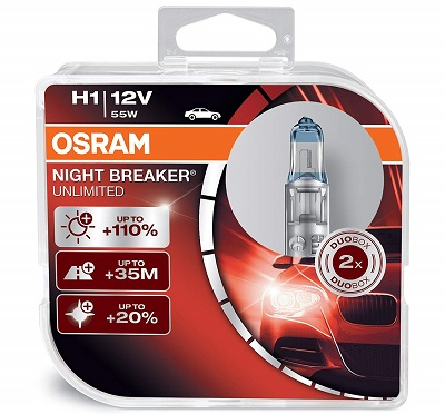 Osram H1 Night Breaker Halogen Light Bulb