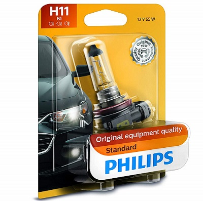 Philips 12362B1 Standard Halogen Headlight Bulb