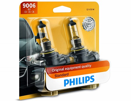 Philips Standard Halogen Headlight Bulbs 2-Pack