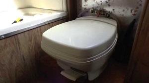 Portable RV toilet