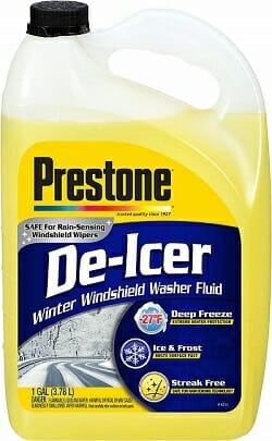 Prestone AS250 De-Icer Windshield Washer Fluid