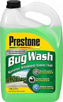 Prestone AS657 Bug Wash Windshield Washer Fluid