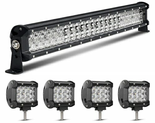 Rigidhorse 7,000-Lumen Dual-Color ATV LED Light Bar
