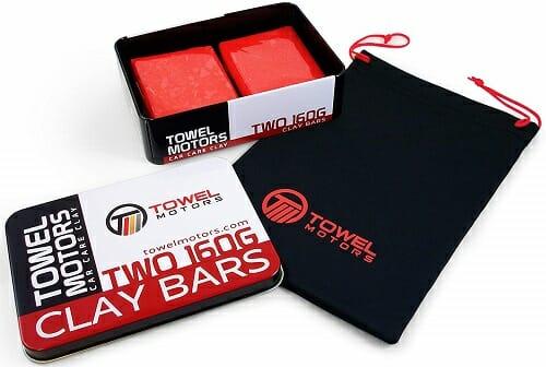 Towel Motors Car Clay Bar