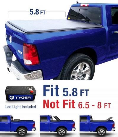 Tyger Auto TG-BC3D1015 Tri-Fold Tonneau Cover