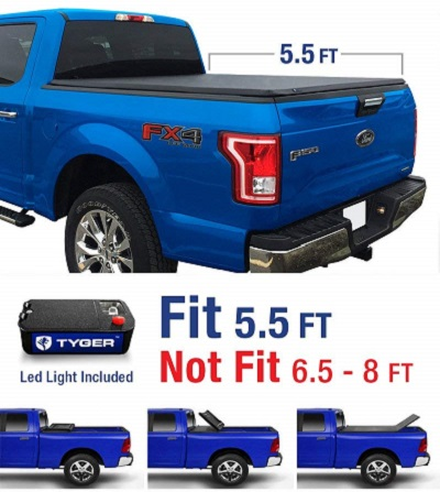 Tyger Auto TG-BC3F1041 Tonneau Cover Ford F-150
