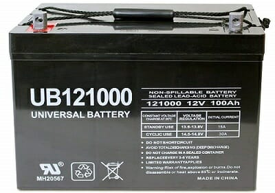 Universal Power Group UB121000-45978 AGM Battery