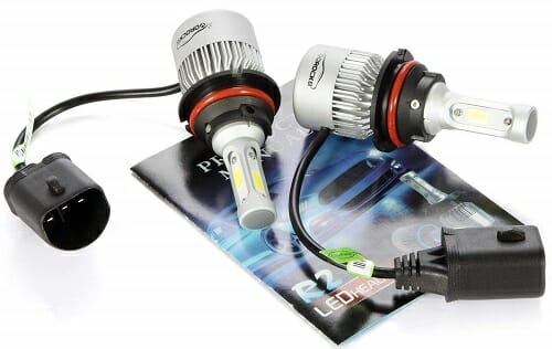 VoRock8 HB5 8,000-Lumen LED Headlight Bulb