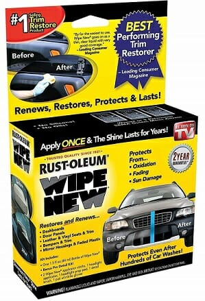 Wipe New Trim Restorer