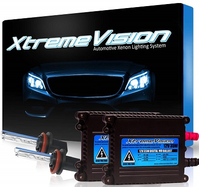 XtremeVision 35-Watt HID Conversion Kit Plus Slim Ballast