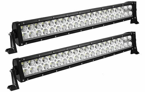 The 10 best atv led light bars reviews buying guide yitamotor 21 inch spot flood combo atv led light bar aloadofball Images