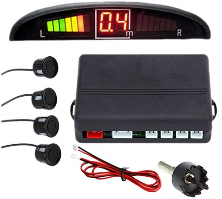 ZoneTech Car Parking Sensor System with LED Display