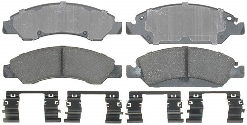 ACDelco 17D1367CH Ceramic Front Disc Brake Pad Set