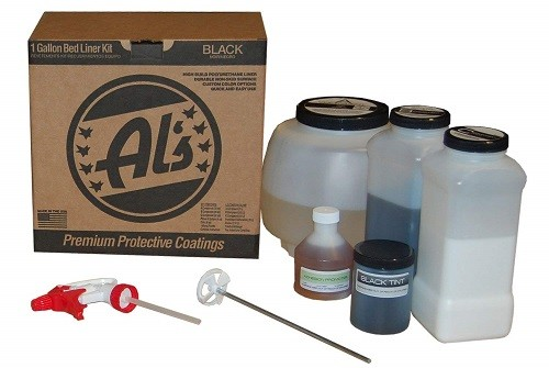 Al's Liner ALS-BL Premium Spray In Bedliner Kit