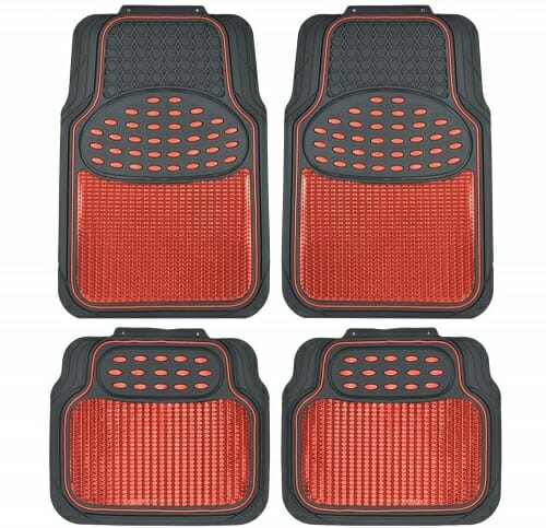 BDK Metallic Rubber Floor Mat