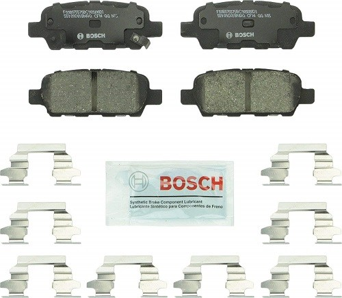 Bosch BC905 QuietCast Premium Ceramic Brake Pad Set