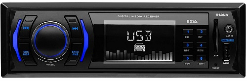 Boss Audio 612UA Single Din Head Unit