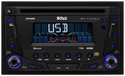 Boss Audio 870DBI Double Din Head Unit