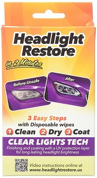 CLT Headlight Restoration Kit