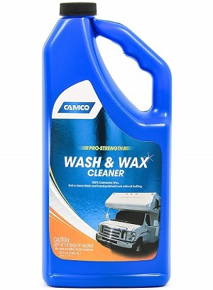 Camco 40493 Pro-Strength Wash and Wax