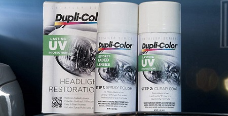 Dupli-Color EHLR10000 Headlight Restoration Kit