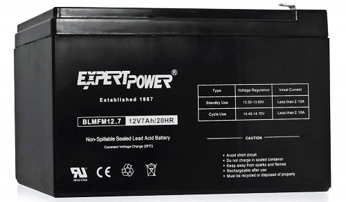 ExpertPower EXP1270 Rechargeable Lead Acid Battery