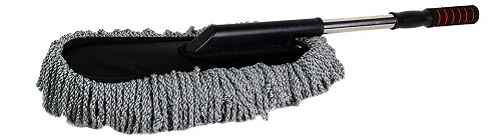 JS LifeStyle Car Microfiber Brush Detail Duster Extendable for Interior