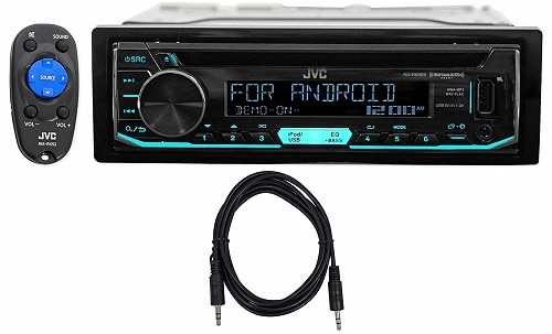 JVC KD-R690S Single Din Head Unit