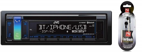 JVC KD-RD87BT Single Din Head Unit