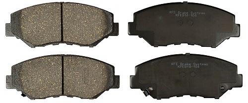 KFE 914-104 Premium Ceramic Front Brake Pad Set