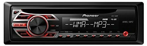 Pioneer DEH-150MP Single Din Head Unit