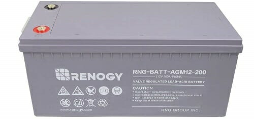 Renogy Deep Cycle AGM Battery