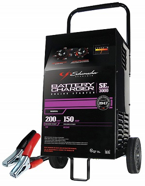Schumacher SE-3000 Manual Fleet Battery Charger
