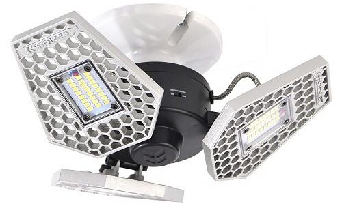 Striker Concepts Trilight Motion-Activated LED Garage Lighting