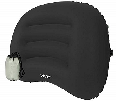 Vive Inflatable Lumber Sport Cushion