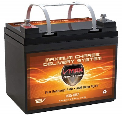 Vmax857 Marine Deep Cycle AGM Battery