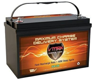 Vmaxtanks Vmaxslr125 AGM Deep Cycle Battery