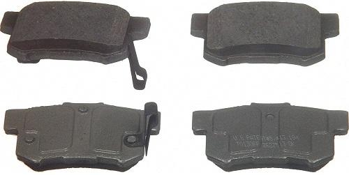Wagner QC537 Rear Ceramic Brake Pad