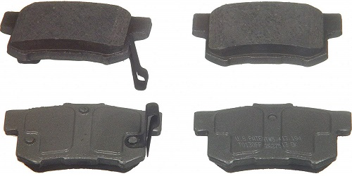 Wagner QC537 Rear Ceramic Brake Pad