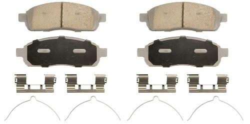 Wagner ThermoQuiet QC1083 Ceramic Brake Pad