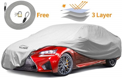 XCar New Breathable Dust Prevention Car Cover