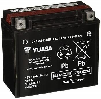 Yuasa YUAM320BS YTX20L-BS ATV Battery
