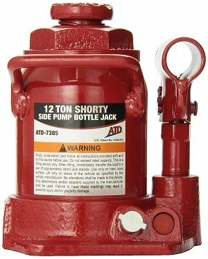 ATD Tools 7385 12-Ton Shorty Bottle Jack