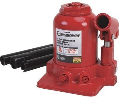 Strongway Double-Ram High-Lift Bottle Jack